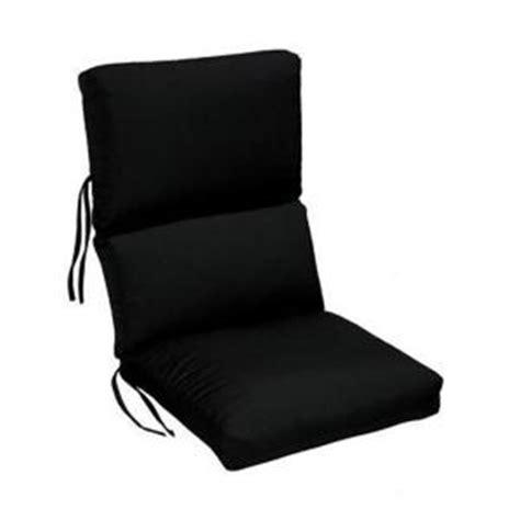 sunbrella black outdoor dining chair cushion 1573310210