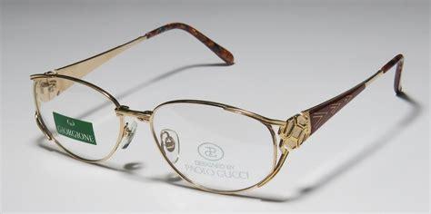 Frame Gucci 8005 Pg new paolo gucci giorgione 7321 21k gold plated durable eyeglass frame eyewear ebay
