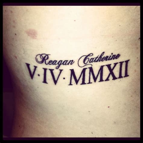 tattoo roman number fonts 25 best ideas about roman numeral font on pinterest