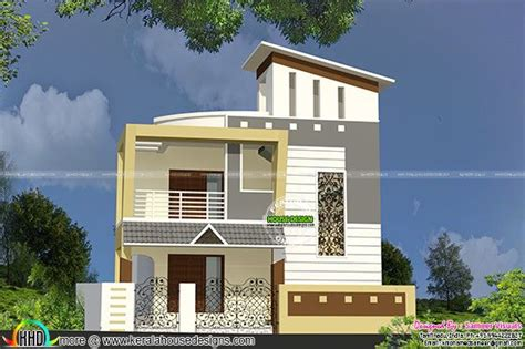 indian house single floor front elevation designs