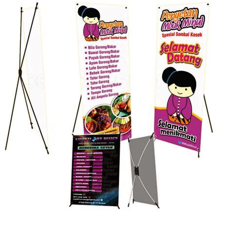 Mini X Banner Agen Brilinks Media Promosi pembuatan x banner atau mini x banner argenta desain argenta desain
