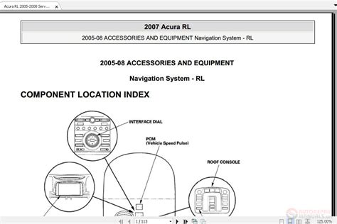free service manuals online 2010 acura rl navigation system maintenance manual free auto repair manuals page 2