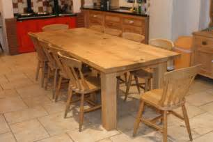 Farmers Kitchen Table Farmhouse Kitchen Tables The Creation Process Homes And Garden Journal