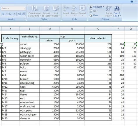 cara membuat database inventory membuat sistem informasi kasir sederhana berbasis