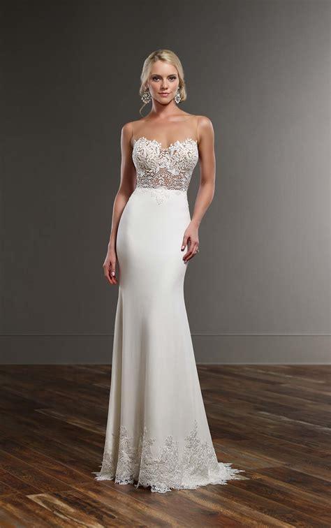 lace wedding dresses sexy lace wedding dress martina liana