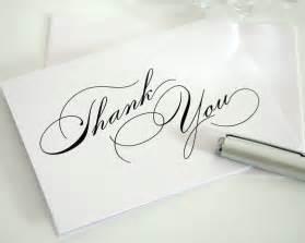 the power of a handwritten thank you card