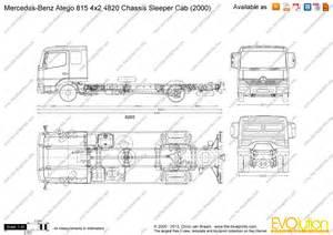 Cad Drawings Online the blueprints com vector drawing mercedes benz atego