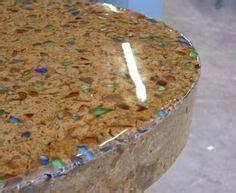 Glass Chips For Concrete Countertops concrete countertops on concrete counter