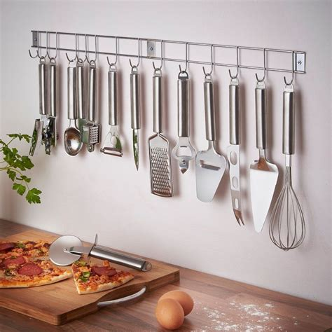 wall mounted kitchen utensil set 1000 ideas about kitchen utensil storage on