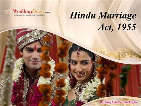 hindu marriage act 1955 section 13b hindu marriage act 1955 authorstream