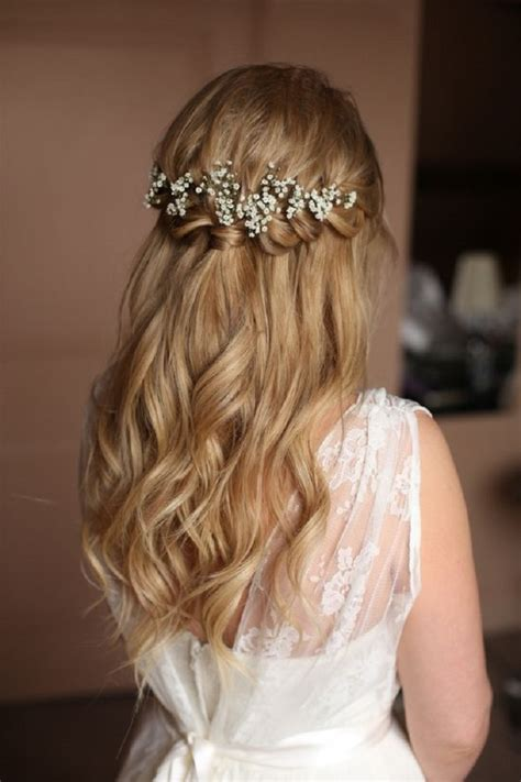 Wedding Bridesmaid Hairstyles Half Up by 38 Bridesmaid Hairstyles Updos Half Up Half Curls