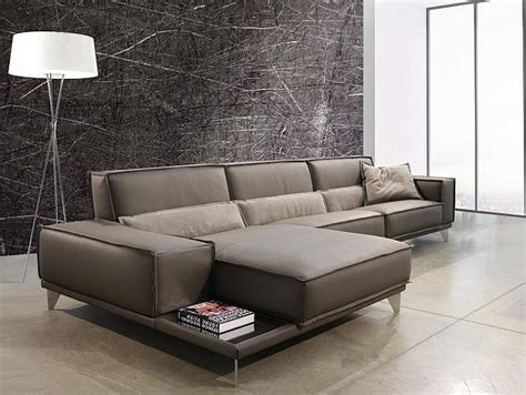 Mokambo Leather Sectional Sofa, Gamma International, Italy