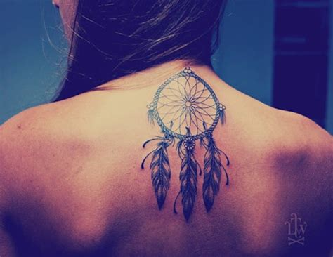 tattoo back sleep 166 dreamcatcher tattoos for a good night sleep