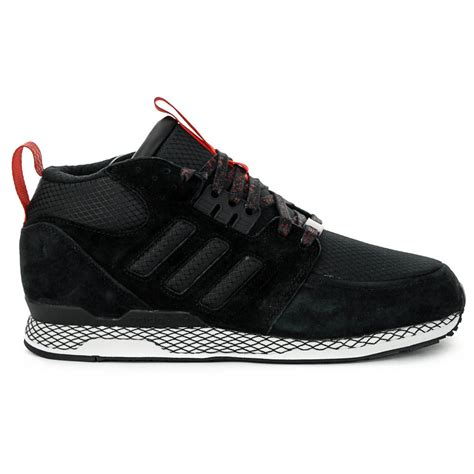 adidas zx casual mid black classic original shoes wooki