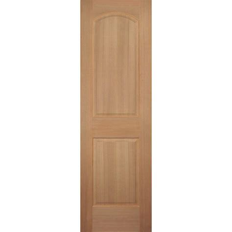 Hemlock Interior Doors Builder S Choice 24 In X 80 In 2 Panel Square Top Solid Hemlock Single Prehung Interior