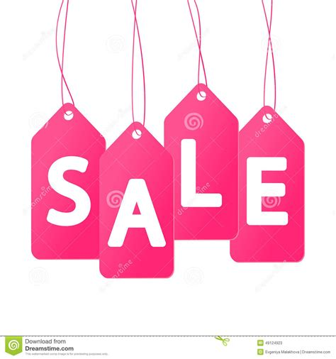 pink price pink price tags stock vector image of business graphic