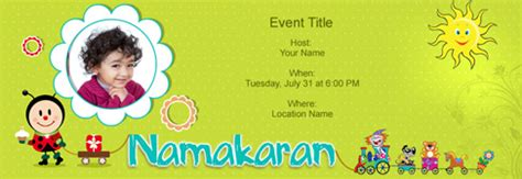 indian baby naming ceremony invitation cards free baby naming namakaran invitation with india s 1 tool