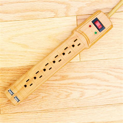 floor l with usb port invisiplug surge protector w usb ports blends in with