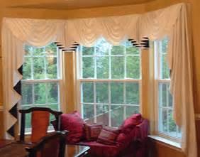 bay window curtains ideas bay window curtain rods