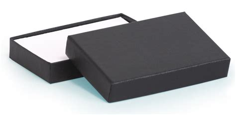 Credit Card Gift Box - black embossed credit card gift box 88 x 57 x 15mm cc01