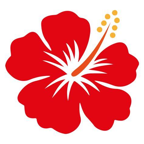 design bunga raya hibiscus vector clipart best