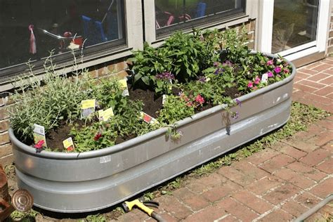 water trough flower planters in the next 30 days try