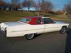 76 Cadillac Sedan Sell Used 76 Coupe Low Mile All Original Cadillac