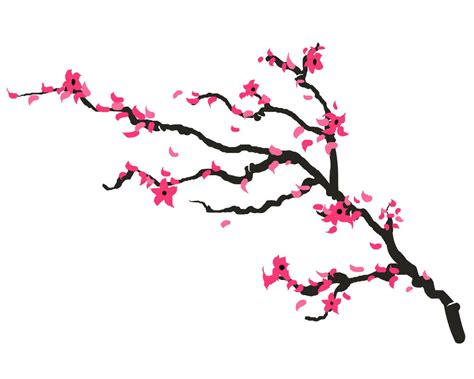cherry blossom henna tattoo cherry blossom temporary set of 2 floral