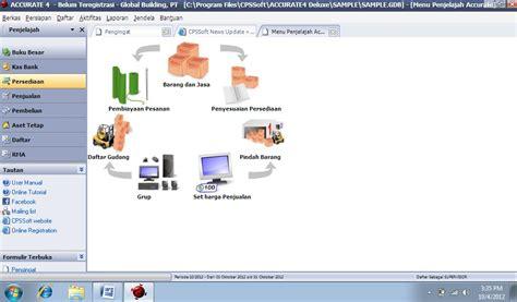 Accurate Software bagaimana cara membuat daftar gudang didalam program