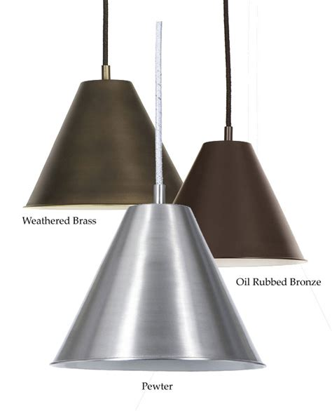 Jvi Designs 1205 7 Inch Diameter Cone Metal Shade Pendant Metal Shade Pendant Light