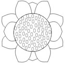 Further easy origami flowers crafts on coloring page sunflower craft
