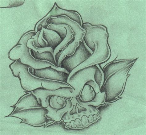 open rose tattoo 17 best images about skull roses on