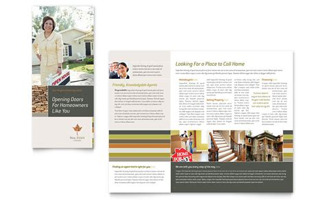 free brochure templates for word free sle brochure templates word publisher