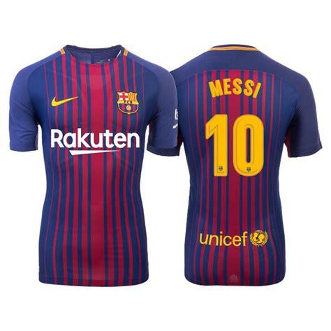 barcelona jersey 2017 messi men s 2017 18 lionel messi 10 barcelona blue red stripes