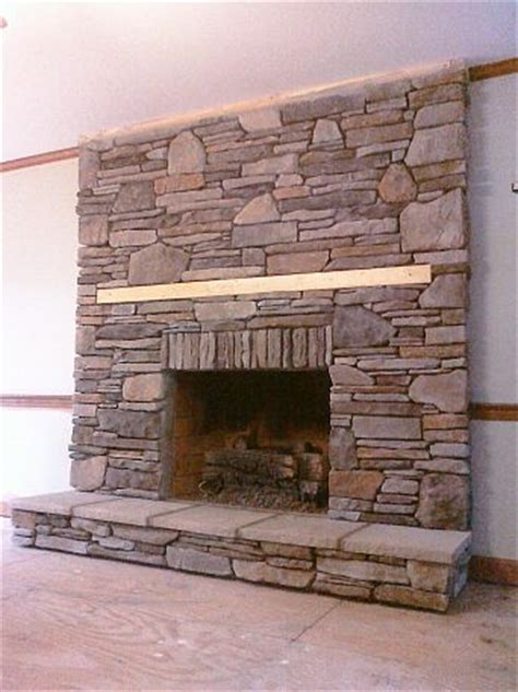 install stacked fireplace manufactured veneer that i installed in stack