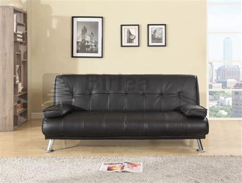 different of leather sofa birlea logan black faux leather sofa bed by birlea