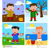 Four Seasons Clipart  China Cps
