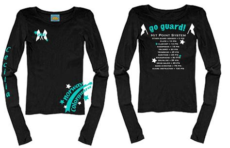 color guard shirts colorguard shirt design by impulselights on deviantart