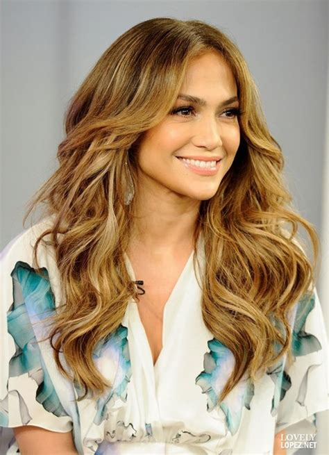 layered hairstyles for long hair jennifer lopez hair cut
