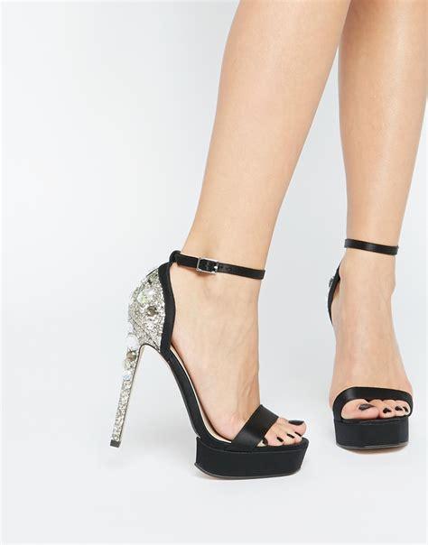 Sandal Belleza zapatos brillantes sandalia de belleza y