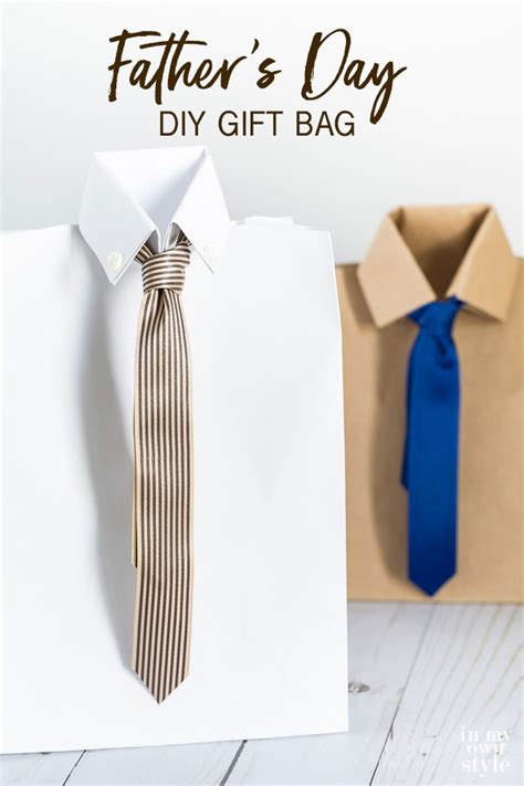Dollar Store Home Decor Ideas The Cutest Father S Day Gift Bag Ever In My Own Style