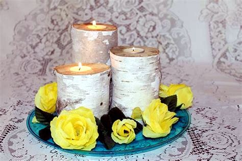 Handmade Candles Ideas - decorating with handmade candles and candle holders 12 a