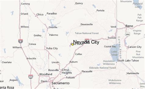 california map nevada city nevada city california ca 95959 profile population maps