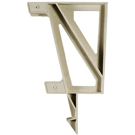 deck bench brackets shop 2x4basics sand polyresin bench brackets at lowes com