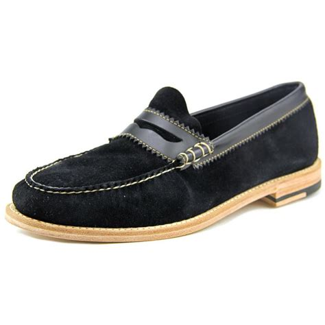 bass mens loafers gh bass co gh bass co bradford leather black