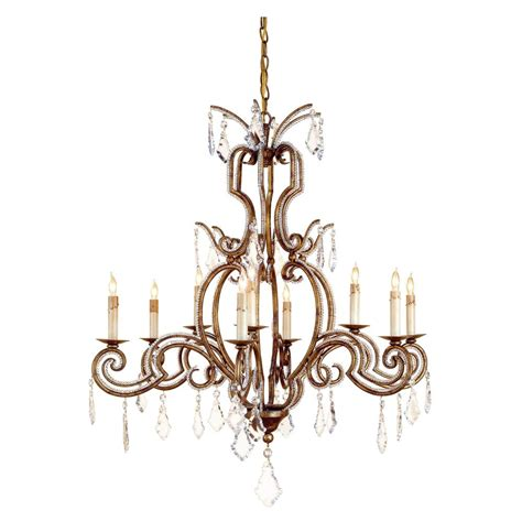 Antique Gold Chandelier Khaled Classic Antique Gold 9 Light Chandelier Kathy Kuo Home