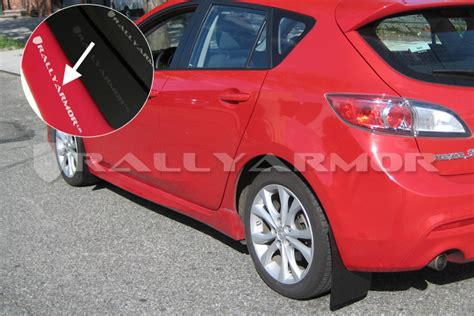 rally armor mud flaps mazda 3 rally armor canada 2010 mazda 3 speed 3 urethane mud flaps
