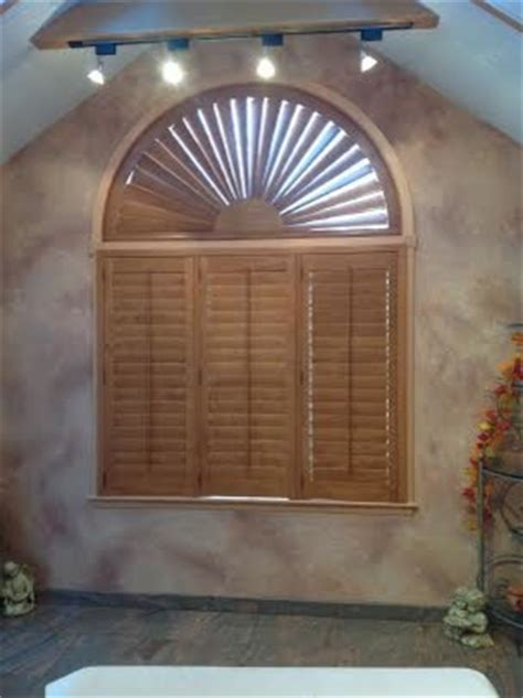 arch window shutters interior arch top hardwood shutter traditional interior