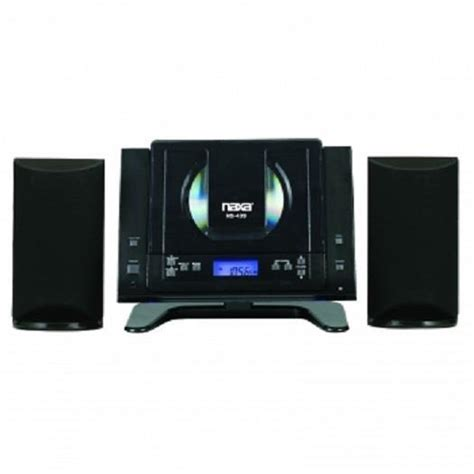 naxa cd player micro system bluetooth mini compact shelf