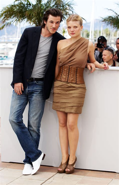 melanie thierry poids gaspard ulliel and melanie thierry photos photos the